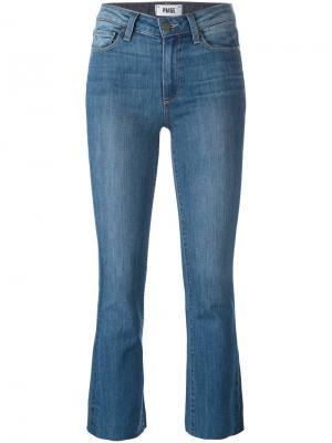 Укороченные джинсы-клеш Colette Paige. Цвет: синий