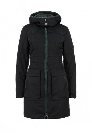 Куртка утепленная Salewa. Цвет: черный