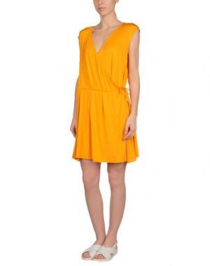 Пляжное платье MISS NAORY. Цвет: оранжевый