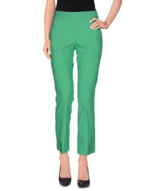 Повседневные брюки LIVIANA CONTI. Цвет: зеленый