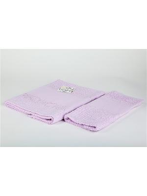 Комплект полотенец 2 предмета Onda La Pastel. Цвет: сиреневый