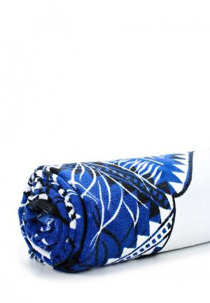 Полотенце Roxy. Цвет: синий