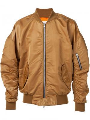 Куртка-бомбер Fear Of God. Цвет: металлический