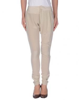 Повседневные брюки ELLA LUNA. Цвет: бежевый