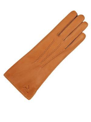 Перчатки ESMEE. Цвет: светло-коричневый, горчичный, рыжий