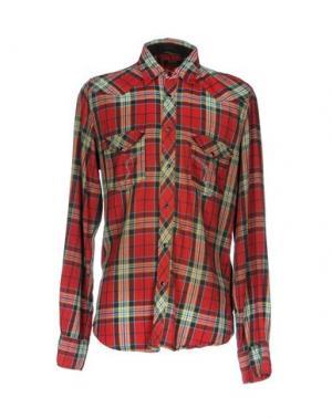 Pубашка RA-RE. Цвет: красный
