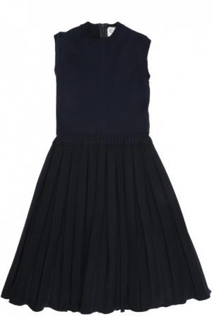 Платье Caf. Цвет: синий