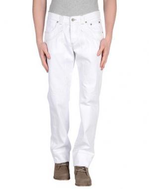 Повседневные брюки JECKERSON. Цвет: белый