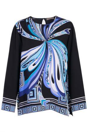 Блуза Emilio Pucci. Цвет: черный
