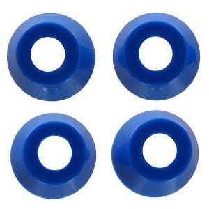 Амортизаторы для скейтборда  Standard Conical Cushions Medium Hard Blue 92a Independent. Цвет: синий