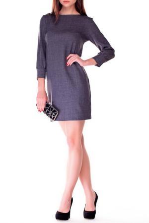 Платье Laura Bettini. Цвет: графитовый