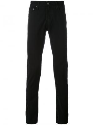 Джинсы кроя скинни Stockton Ag Jeans. Цвет: чёрный
