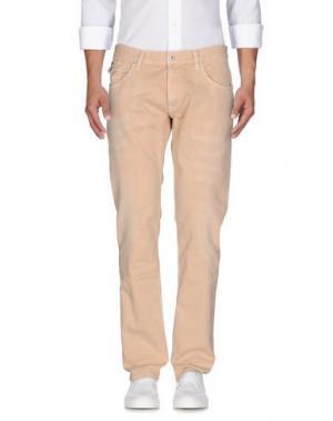 Джинсовые брюки RA-RE. Цвет: светло-розовый