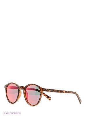 Солнцезащитные очки Polaroid. Цвет: светло-коричневый