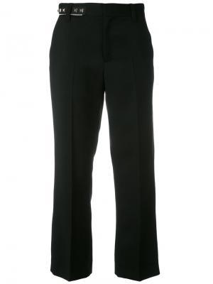 Костюмные брюки с отделкой заклепками Marc Jacobs. Цвет: чёрный