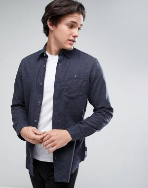 Jack & Jones Джинсовая классическая рубашка с карманом Originals. Цвет: черный