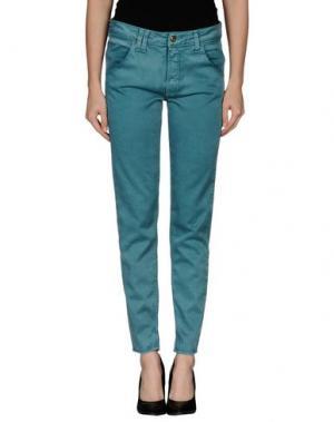 Повседневные брюки CYCLE. Цвет: зеленый