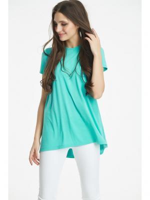 Блузка Fly. Цвет: зеленый