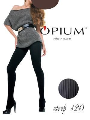Колготки OPIUM. Цвет: коричневый