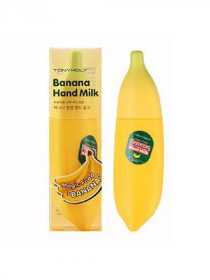 Крем для рук с бананом MAGIC FOOD, 45мл Tony Moly. Цвет: прозрачный
