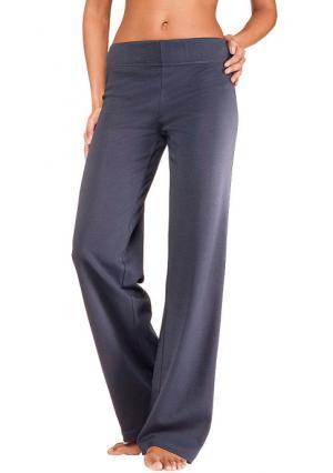 Спортивные брюки VIVANCE. Цвет: темно-синий, черный