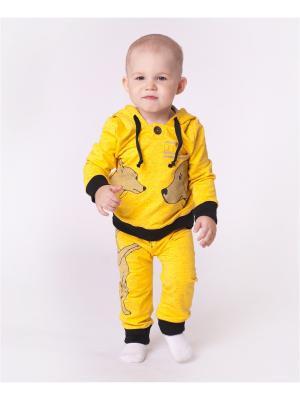 Комплект одежды VATAGA. Цвет: желтый