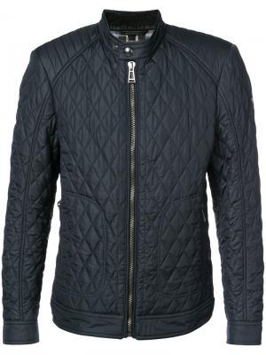 Стеганая куртка Belstaff. Цвет: синий