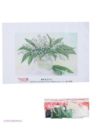 Набор для вышивания бисером  Дыхание мая Матренин Посад. Цвет: молочный, зеленый