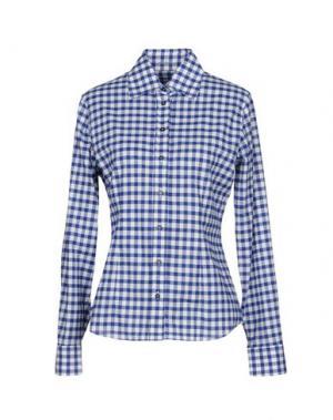 Pубашка VAN LAACK. Цвет: синий