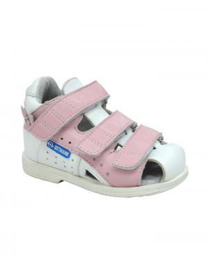 Обувь ортопедическая малосложная AMBERG, арт. 7.38.2 ORTMANN. Цвет: розовый