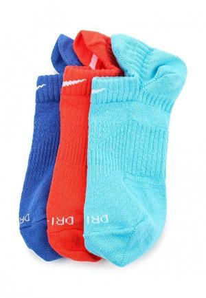 Комплект носков 3 пары Nike. Цвет: разноцветный