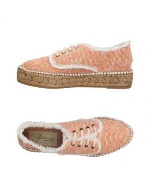 Низкие кеды и кроссовки GAIMO. Цвет: оранжевый