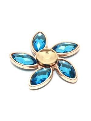 Подарочный фиджет спиннер Eleon. Цвет: бронзовый, голубой