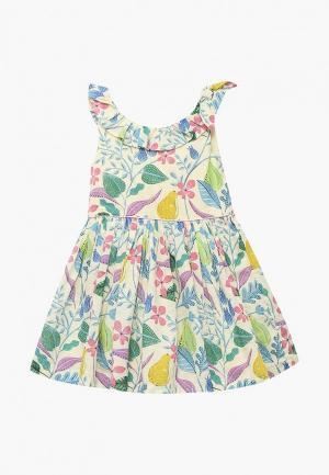 Платье Marks & Spencer. Цвет: желтый