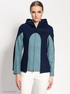 Куртка DOCTOR E. Цвет: синий, серо-голубой