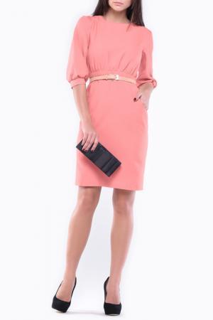 Платье REBECCA TATTI. Цвет: темно-персиковый