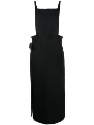 Платье-фартук Idaho Joseph. Цвет: чёрный