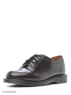 Ботинки Dr.Martens. Цвет: темно-бордовый, бордовый