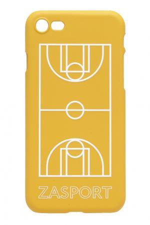 Чехол для iPhone 7 ZASPORT. Цвет: желтый