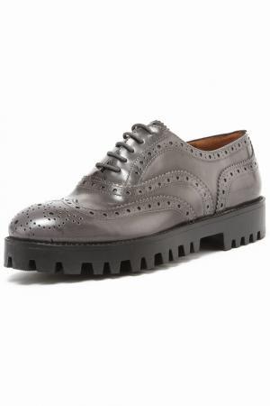 Ботинки Julie Dee. Цвет: серый
