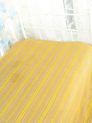 Покрывало ARLONI. Цвет: бежевый, светло-желтый, светло-зеленый