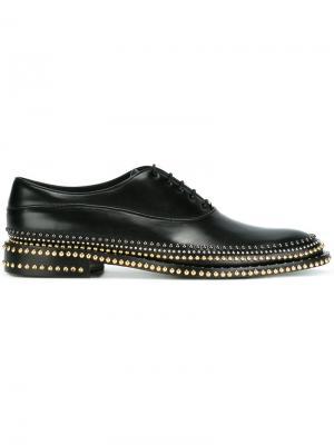 Декорированные ботинки Louis Leeman. Цвет: чёрный