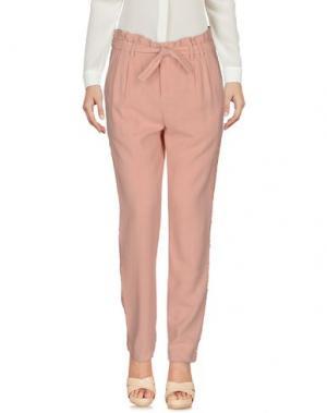 Повседневные брюки CHARLISE. Цвет: розовый