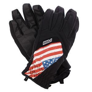 Перчатки сноубордические  Bandera Glove Usa Pow. Цвет: черный