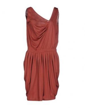 Короткое платье MARGIT BRANDT. Цвет: кирпично-красный
