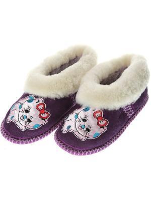 Бабуши Prestige Collection. Цвет: фиолетовый