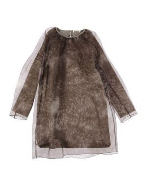 Платье LE PETIT COCO. Цвет: свинцово-серый