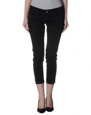 Джинсовые брюки LEIDIRÓ. Цвет: черный