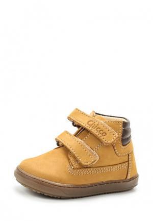 Ботинки Chicco. Цвет: коричневый