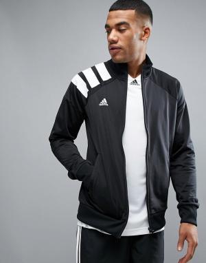 Adidas Черная спортивная куртка Tango BQ0390. Цвет: черный